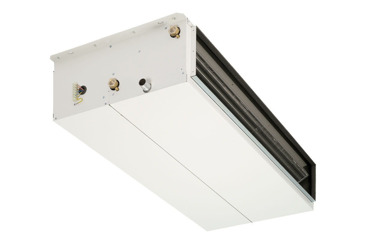 HWX ductable fan-coil with high static pressure 150 Pa